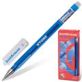 Ручка гелевая ERICH KRAUSE G-Tone, корпус тонированный синий, 0,5мм, линия 0,4мм, синяя, 17809