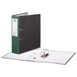 Папка-регистратор BRAUBERG (БРАУБЕРГ) «Стандарт» с мраморным покрытием, 80 мм, зеленый корешок