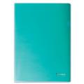 Папка-уголок жесткая BRAUBERG (БРАУБЕРГ), зеленая, 0,15 мм