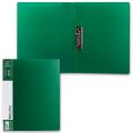 Папка с боковым металлическим прижимом и внутренним карманом BRAUBERG Contract, зел, до 100лист, 0,7мм,бизнес-класс