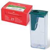 Точилка FABER-CASTELL пластиковая, FCOF124