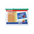 Папка-конверт на молнии ERICH KRAUSE, B6, 200*160 мм, прозрачная, 140 мкм, 4564