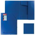 Папка на резинках ERICH KRAUSE «Megapolis», А4, синяя, до 300 листов, 0,6 мм