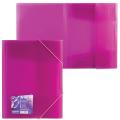 Папка на резинках ERICH KRAUSE «Vivid Colors», А4, ассорти, до 300 листов, 0,5 мм