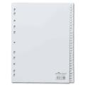 Разделитель пластиковый DURABLE (Германия) для папок А4, цифровой 1-31