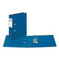 Папка-регистратор BRAUBERG «Comfort» (БРАУБЕРГ «Комфорт») с 2-сторонним ПВХ-покрытием, 70 мм, синяя