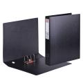 Папка-регистратор HERLITZ А3 вертикальная, прочный фиброкартон, 75мм, черная, 10842383
