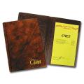 Папка «Счет», коричневая