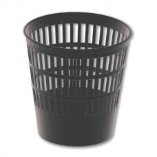 Корзина для бумаг BRAUBERG «Maxi» (БРАУБЕРГ «Макси»), большая сетчатая, 16 литров, черная