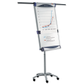 Доска-флипчарт NOBO «Piranha Mobile» магнитно-маркерная, 100-70 см, передвижная (АССО Brands, США)