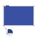 Доска c текстильным покрытием BRAUBERG для объявлений 60*90см, синяя, ГАРАНТИЯ 10 ЛЕТ