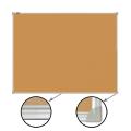 Доска пробковая BRAUBERG (БРАУБЕРГ) для объявлений, 45-60 см, алюминиевая рамка, ГАРАНТИЯ 10 ЛЕТ