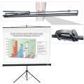 Экран проекционный LUMIEN Eco View, матовый на треноге, 150-150 см, 1:1