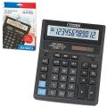 Калькулятор CITIZEN настольный SDC-888TII, 12 разрядов, двойное питание, 205х159мм