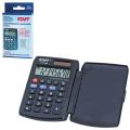 Калькулятор STAFF карманный STF-883, 8 разрядов, двойное питание, 95х62мм, 250196