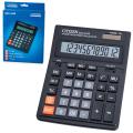 Калькулятор CITIZEN настольный SDC-444S, 12 разрядов, двойное питание, 199-153 мм, оригинальный