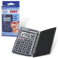 Калькулятор STAFF карманный STF-6248, 8 разрядов, двойное питание, 104х63мм, 250284