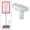 Держатель рамки-POS, Т-образный, для сборки напольной стойки, для трубок 10 мм
