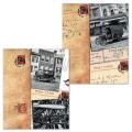 Тетрадь 96 л. BRAUBERG (БРАУБЕРГ) офсет, 60 г/м, клетка, обложка мелованный картон, «Страны», 2 вида