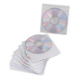 Конверты для CD/DVD BRAUBERG (БРАУБЕРГ), комплект 10 шт., на 1CD/DVD, самоклеящиеся, с европодвесом