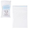 Пакеты с замком «зиплок» (гриппер), комплект 100 шт., 60-80 мм, 32 мкм