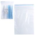 Пакеты с замком «зиплок» (гриппер), комплект 100 шт., 120-170 мм, 35 мкм