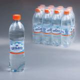 Вода газированная питьевая ЭДЕЛЬВЕЙС, 0,5 л, пластиковая бутылка