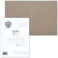 Папка Дело картонная (без скоросшивателя) BRAUBERG, гарантированная плотность 300г/м2,до 200л,124571