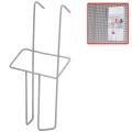 Лоток навесной для стоек ПАРУС, формат А6, 220-115-30 мм, проволочный, хром