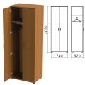Шкаф для одежды «Монолит», 740-520-2050 мм, цвет орех гварнери, ШМ50.3