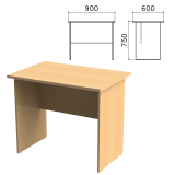 Стол письменный «Монолит», 900-600-750 мм, цвет бук бавария, СМ19.1