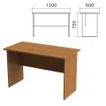 Стол письменный «Монолит», 1200-600-750 мм, цвет орех гварнери, СМ21.3