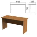 Стол письменный «Монолит», 1400-600-750 мм, цвет орех гварнери, СМ22.3