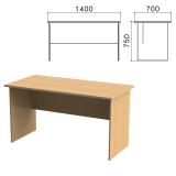 Стол письменный «Монолит», 1400-700-750 мм, цвет бук бавария, СМ2.1