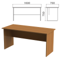 Стол письменный «Монолит», 1600-700-750 мм, цвет орех гварнери, СМ3.3