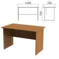 Стол письменный «Монолит», 1200-700-750 мм, цвет орех гварнери, СМ1.3