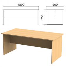 Стол для переговоров «Монолит», 1800-900-750 мм, цвет бук бавария, СМ18.1