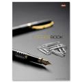 Блокнот 7 БЦ, А4, 205-290мм, 120 л., «Хатбер», обложка ламинированная, 5-цветный блок, «Office Book»