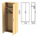 Шкаф для одежды «Канц», 700-350-1830 мм, цвет бук невский, ШК40.10