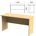 Стол письменный «Канц», 1400-600-750 мм, цвет бук невский, СК21.10