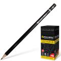 Карандаш чернографитный BRAUBERG (БРАУБЕРГ), НВ, черный, без резинки, заточенный, картонная упаковка