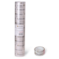Клейкие ленты 19мм х 10м канцелярские BRAUBERG, КОМПЛЕКТ 12шт., прозрачные  гарантир. длина, 223124