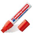 Маркер для окон и стекла EDDING 4-15мм, смываемый, на меловой основе, красный, Е-4090/2
