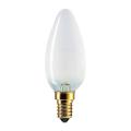 Лампа накаливания PHILIPS B35 FR E14, 60 Вт, свечеобразная, матовая, колба d = 35 мм, цоколь E14