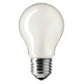 Лампа накаливания PHILIPS A55 FR E27, 75 Вт, грушевидная, матовая, колба d = 55 мм, цоколь E27