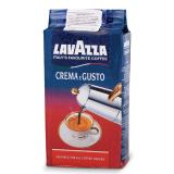 Кофе молотый LAVAZZA «Crema e Gusto», натуральный, 250 г, вакуумная упаковка