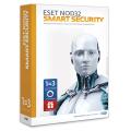 Антивирус «ESET NOD32 Smart Security+Bonus», 3 ПК, 1 год или продление на 20 месяцев