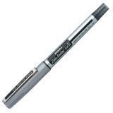 Ручка-роллер ZEBRA «Zeb-Roller DX5», корпус серебристый, толщина письма 0,5 мм, черная
