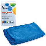 Тряпка для мытья пола FUN CLEAN, микрофибра, 50-60 см