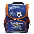 Ранец жесткокаркасный BRAUBERG (БРАУБЕРГ) для учеников начальной школы, «Football» («Футбол»), 17 л